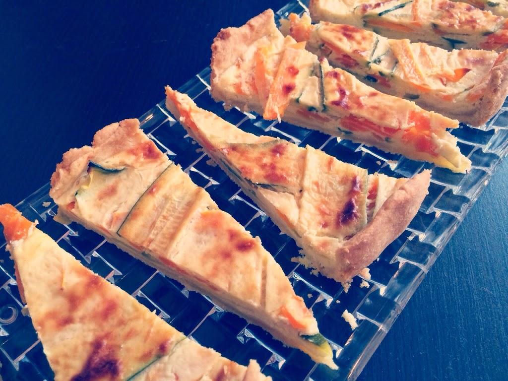 Möhren-Zucchini-Quiche
