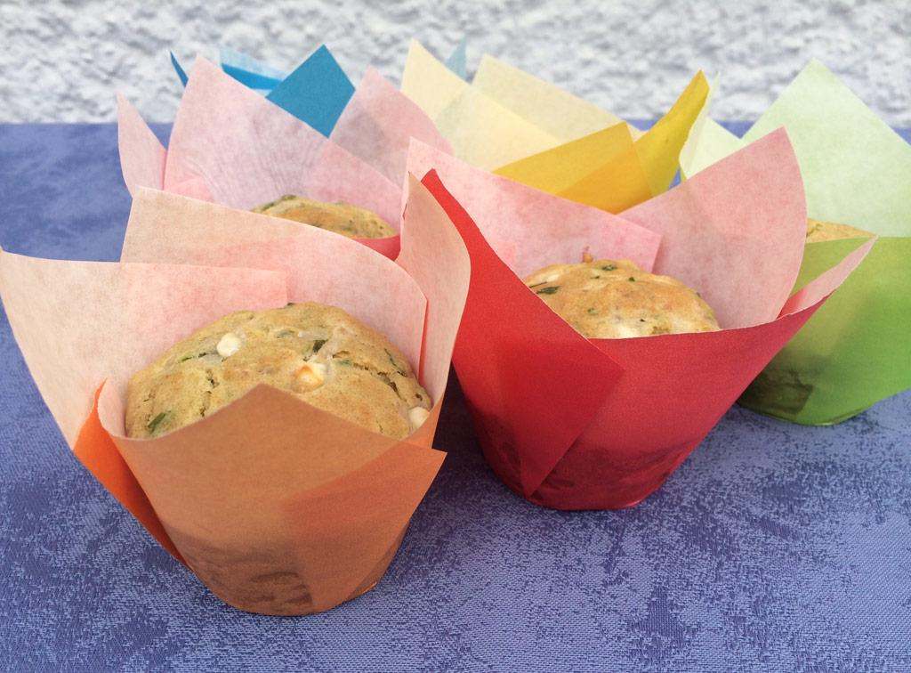 Feta-Bärlauch-Muffins