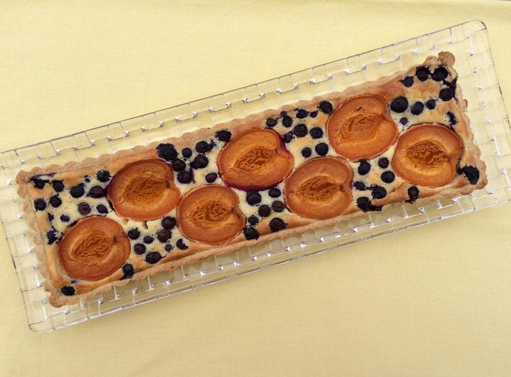 Holunder-Cheesecake