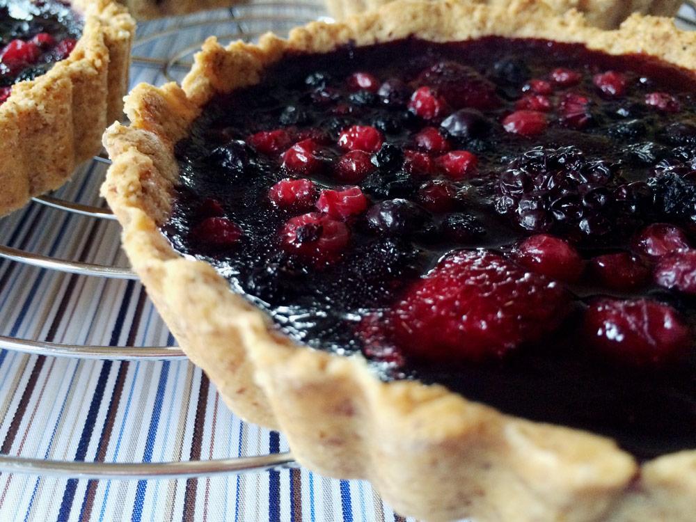 BeerenTartelettes mit NussMürbeteig  danielas foodblog ~ Entsafter Für Beeren