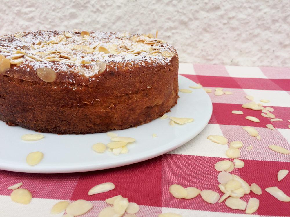 Ricotta-Apfelkuchen ohne Mehl