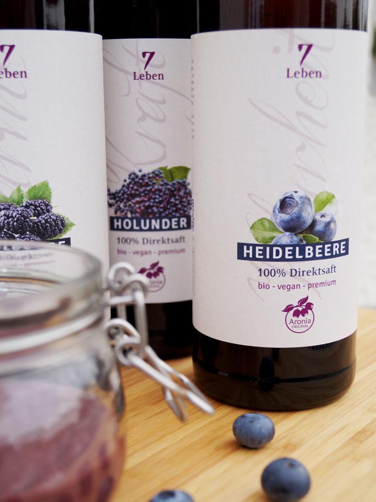Heidelbeer-Curd ohne Ei