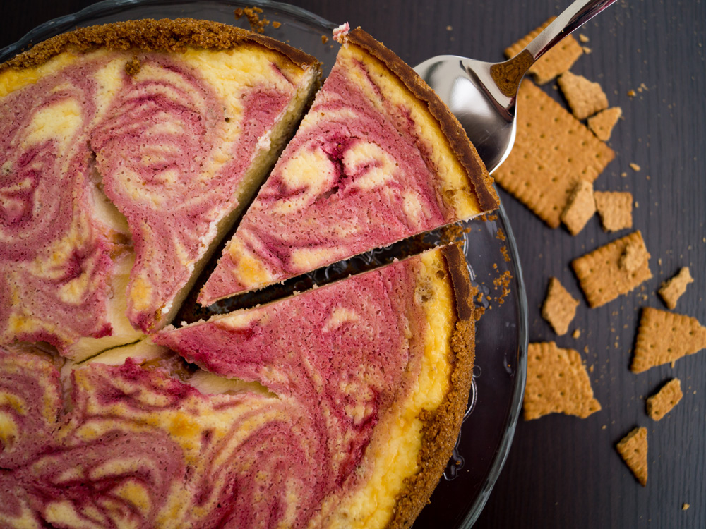 {Werbung} Simply Yummy… dieser Rasberry-Cheesecake