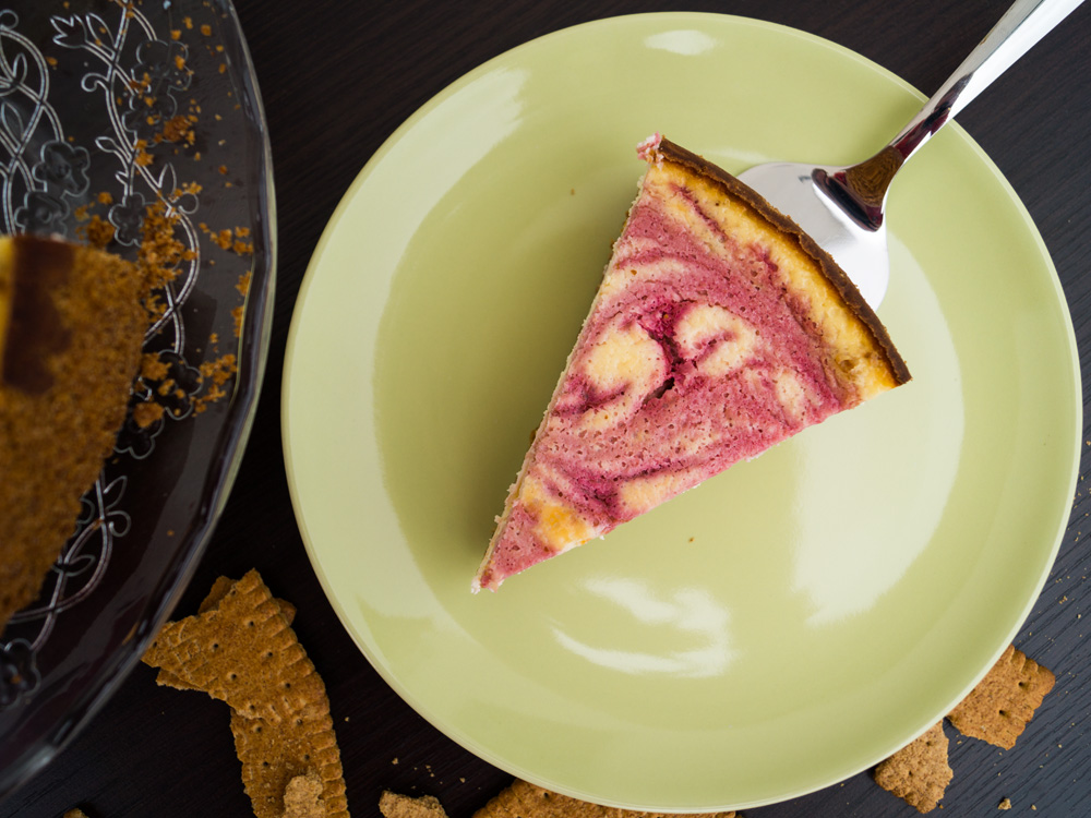 Rasberry-Cheesecake