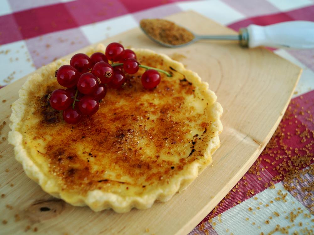 Histaminarme Creme brulee Tartelettes