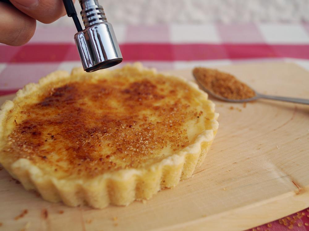 Creme brulee Tartelettes