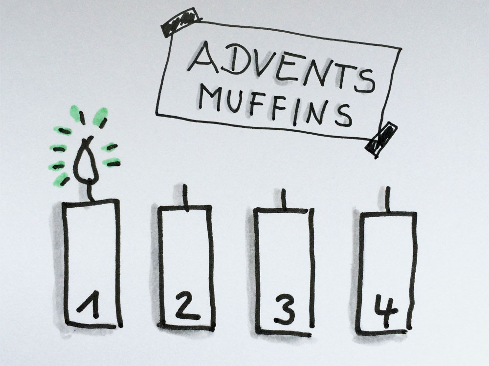 Adventsmuffins_1Advent