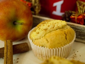 Apfel-Marzipan-Zimt-Muffins