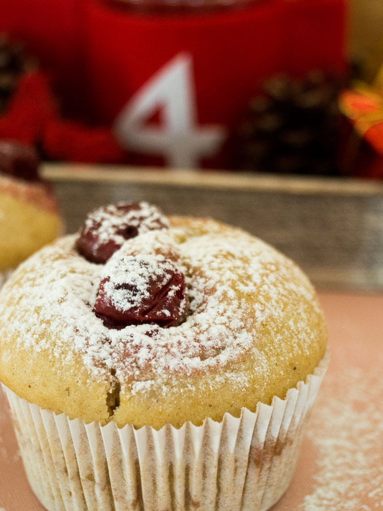 Kirsch-Lebkuchen-Muffins