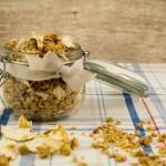 Histaminarmes Apfel-Crunchy-Müsli