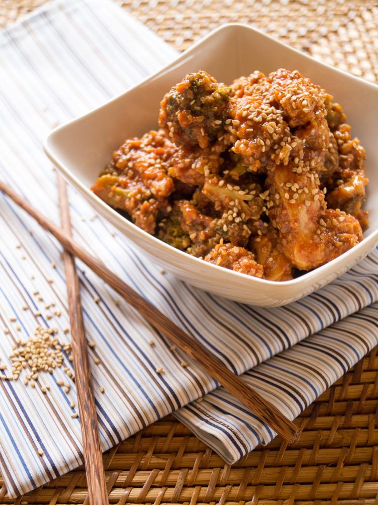 Honig-Sesam-Hühnchen
