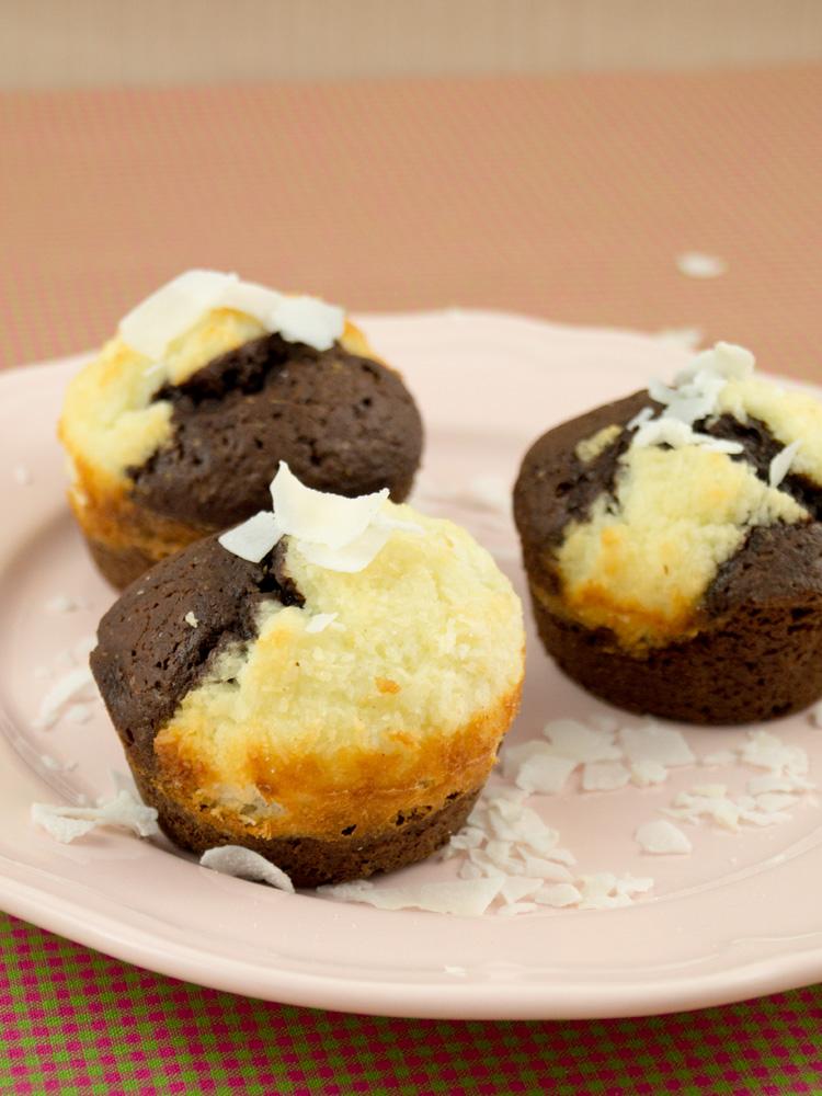 Schoko-Kokos-Muffins
