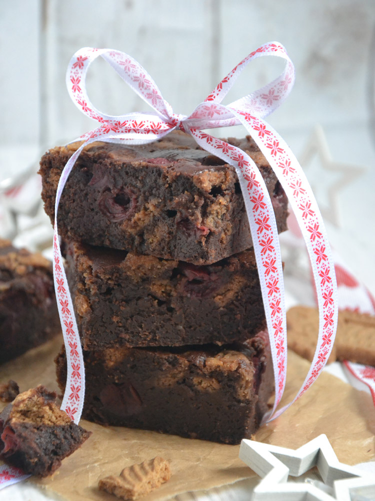 Punsch-Spekulatius-Brownies