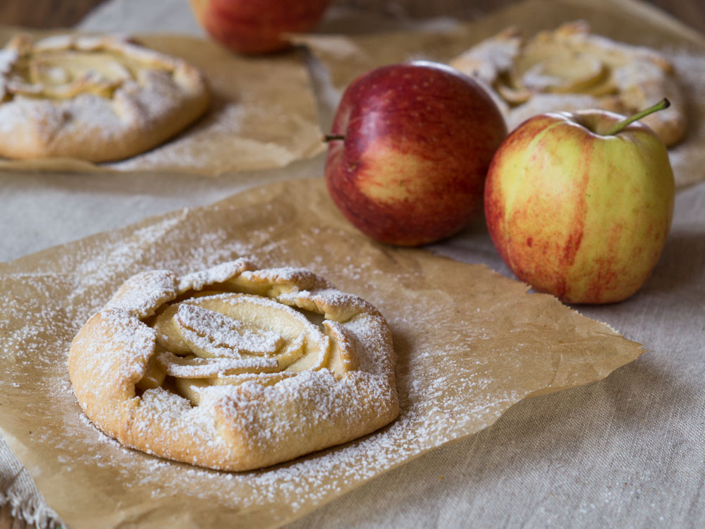 Happy #histaminfreiday mit Mini-Apfel-Galettes