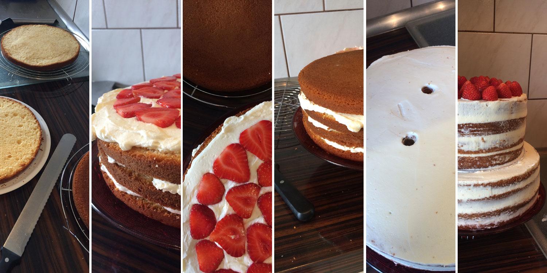 Hochzeitstorte Mit Erdbeeren Und Limetten Danielas Foodblog