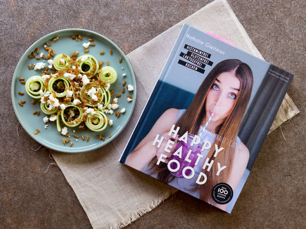 {Rezension} Happy Healthy Food – Histaminfrei, glutenfrei, laktosefrei kochen