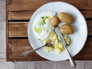 Kartoffeln mit Quark und Leinöl von Emilie