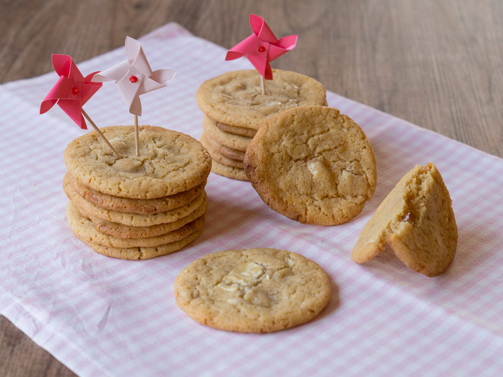 Happy Birthday to me… mit White Chocolate Cookies