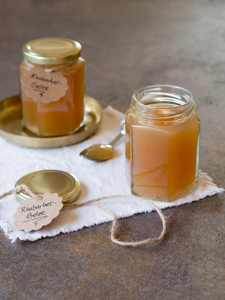 Rhabarber-Gelee - süß, sauer und histaminarm!