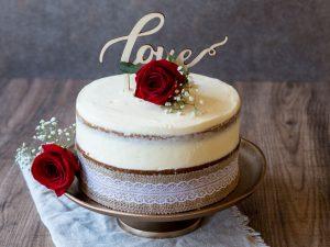 Histaminarme Möhrentorte zur Hochzeit