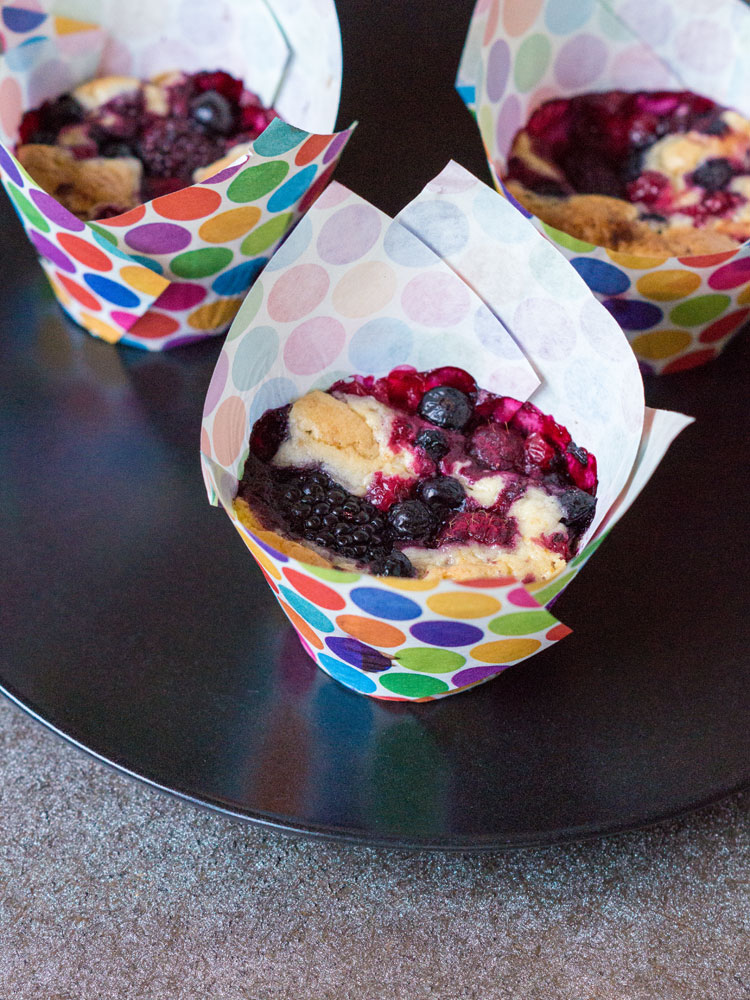 Beeren-Blondies