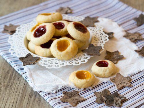 Marmeladen-Plätzchen