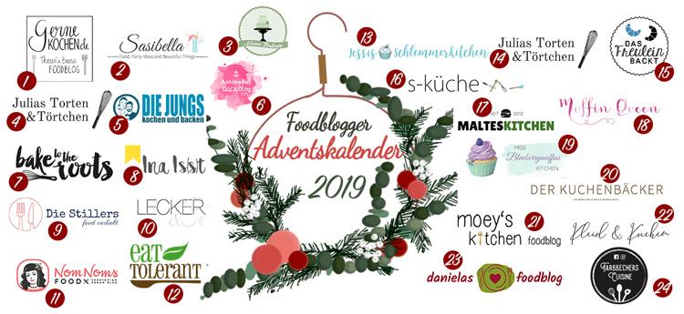 Food Blogger Adventskalender 2019