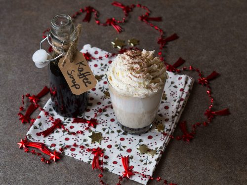 Kaffee-Vanille-Sirup