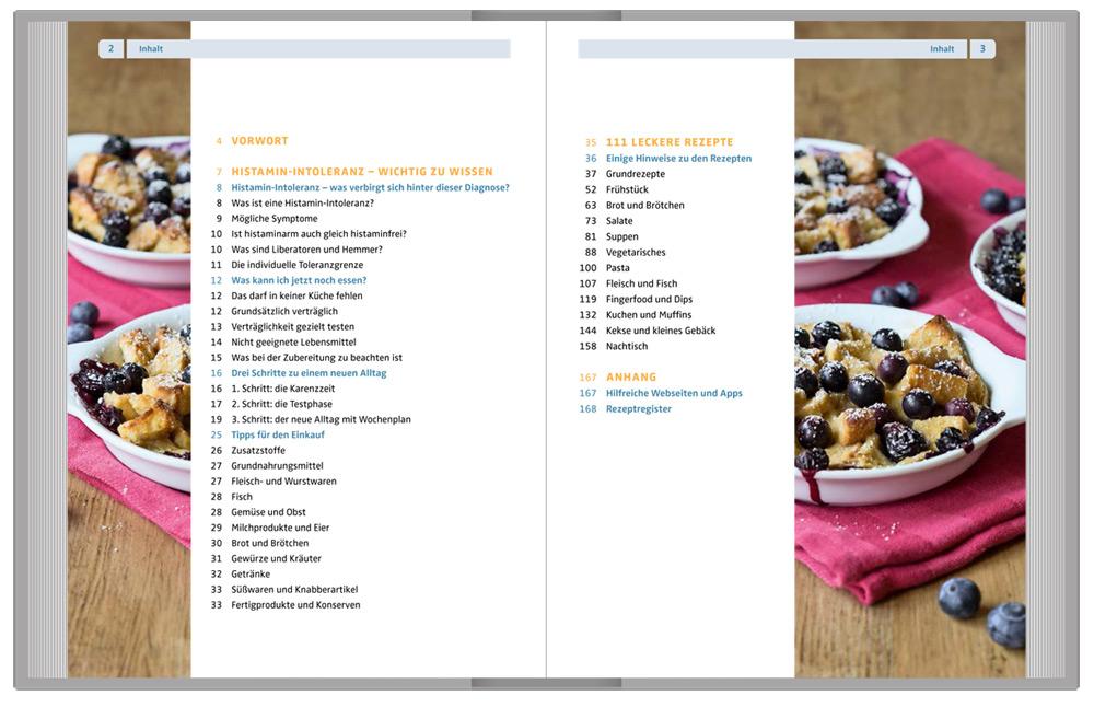 Inhalt: 111 Genießer-Rezepte bei Histamin-Intoleranz