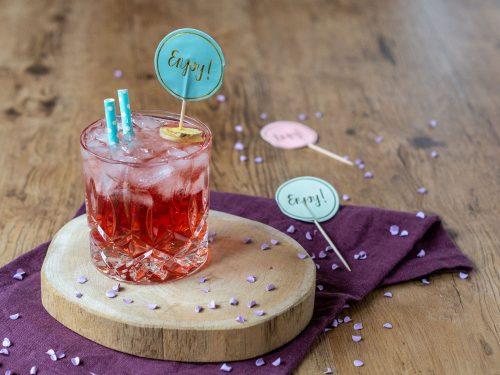 Ingwer-Cranberry-Mocktail