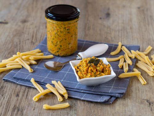 Gemüse-Pesto mit Kürbiskernen